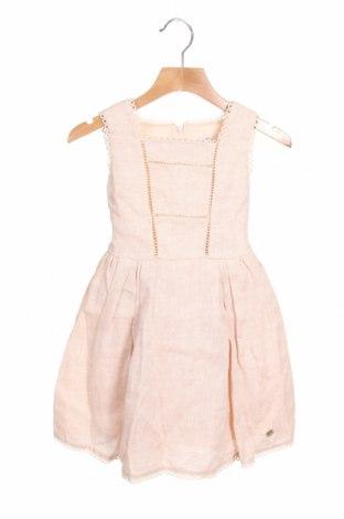 Παιδικό φόρεμα Pili Carrera, Μέγεθος 3-4y/ 104-110 εκ., Χρώμα Ρόζ , Λινό, Τιμή 43,30€