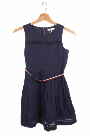 Παιδικό φόρεμα Tommy Hilfiger, Μέγεθος 8-9y/ 134-140 εκ., Χρώμα Μπλέ, Βισκόζη, Τιμή 31,92€
