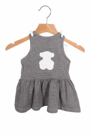Παιδικό φόρεμα Tous, Μέγεθος 3-6m/ 62-68 εκ., Χρώμα Μαύρο, Βαμβάκι, Τιμή 24,74€
