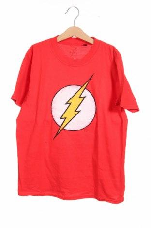 Παιδικό μπλουζάκι, Μέγεθος 9-10y/ 140-146 εκ., Χρώμα Κόκκινο, Βαμβάκι, Τιμή 9,28€