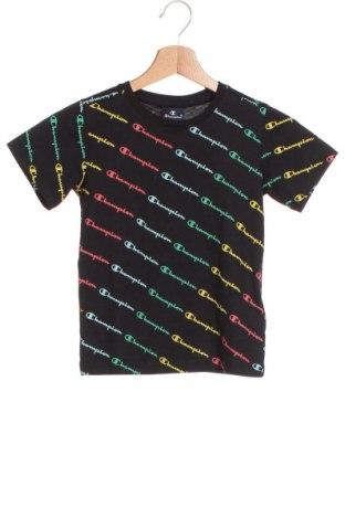 Παιδικό μπλουζάκι Champion, Μέγεθος 5-6y/ 116-122 εκ., Χρώμα Μαύρο, Βαμβάκι, Τιμή 10,82€