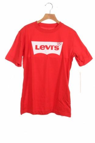 Παιδικό μπλουζάκι Levi's, Μέγεθος 13-14y/ 164-168 εκ., Χρώμα Κόκκινο, Βαμβάκι, Τιμή 17,18€