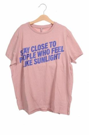 Παιδικό μπλουζάκι Name It, Μέγεθος 12-13y/ 158-164 εκ., Χρώμα Σάπιο μήλο, 95% βαμβάκι, 5% ελαστάνη, Τιμή 9,28€