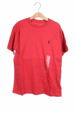 Παιδικό μπλουζάκι Polo By Ralph Lauren, Μέγεθος 8-9y/ 134-140 εκ., Χρώμα Κόκκινο, Βαμβάκι, Τιμή 25,97€