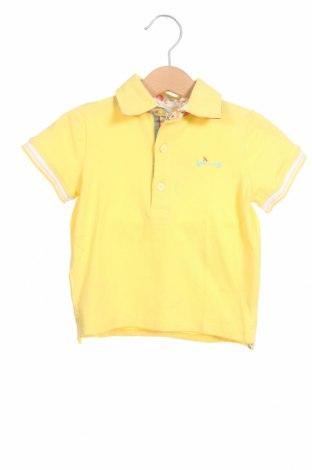 Παιδικό μπλουζάκι Tutto Piccolo, Μέγεθος 12-18m/ 80-86 εκ., Χρώμα Κίτρινο, 95% βαμβάκι, 5% ελαστάνη, Τιμή 18,56€