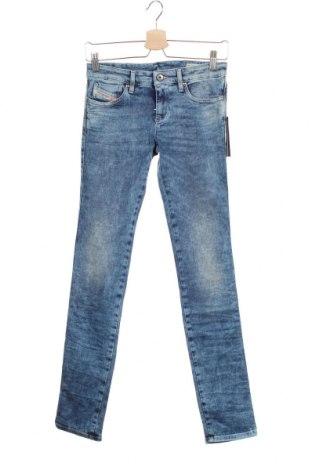 Παιδικά τζίν Diesel Kids, Μέγεθος 15-18y/ 170-176 εκ., Χρώμα Μπλέ, 98% βαμβάκι, 2% ελαστάνη, Τιμή 59,83€