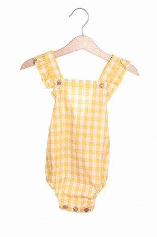 Παιδική σαλοπέτα Little Celebs, Μέγεθος 9-12m/ 74-80 εκ., Χρώμα Κίτρινο, Βαμβάκι, Τιμή 7,58€
