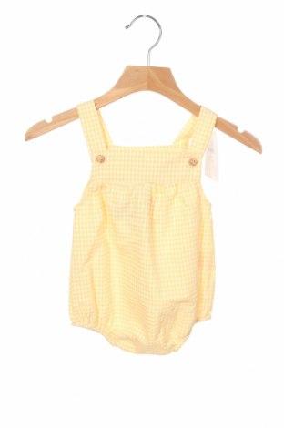 Παιδική σαλοπέτα Little Celebs, Μέγεθος 9-12m/ 74-80 εκ., Χρώμα Κίτρινο, 65% βαμβάκι, 35% πολυεστέρας, Τιμή 9,90€