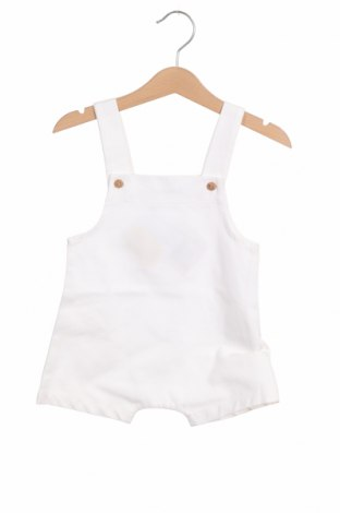 Детски гащеризон Little Celebs, Размер 9-12m/ 74-80 см, Цвят Бял, Памук, Цена 6,37лв.