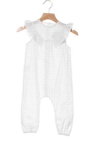 Παιδική σαλοπέτα Little Celebs, Μέγεθος 9-12m/ 74-80 εκ., Χρώμα Λευκό, Βαμβάκι, Τιμή 7,58€