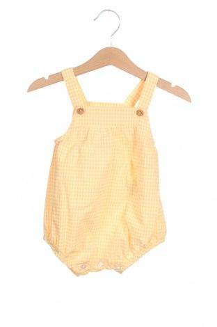Παιδική σαλοπέτα Lola Palacios, Μέγεθος 9-12m/ 74-80 εκ., Χρώμα Κίτρινο, 65% βαμβάκι, 35% πολυεστέρας, Τιμή 7,58€