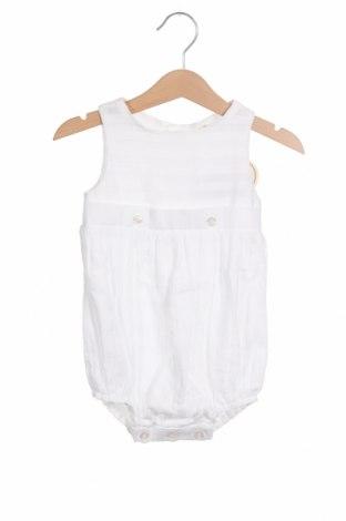 Παιδική σαλοπέτα Lola Palacios, Μέγεθος 9-12m/ 74-80 εκ., Χρώμα Λευκό, Βαμβάκι, Τιμή 7,58€