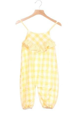 Παιδική σαλοπέτα Lola Palacios, Μέγεθος 18-24m/ 86-98 εκ., Χρώμα Κίτρινο, 65% βαμβάκι, 35% πολυεστέρας, Τιμή 7,58€