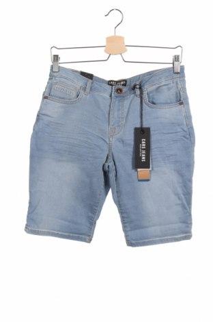 Παιδικό κοντό παντελόνι Cars Jeans, Μέγεθος 15-18y/ 170-176 εκ., Χρώμα Μπλέ, 86% βαμβάκι, 13% πολυεστέρας, 1% ελαστάνη, Τιμή 13,92€