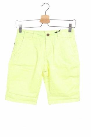 Παιδικό κοντό παντελόνι Garcia, Μέγεθος 10-11y/ 146-152 εκ., Χρώμα Πράσινο, 98% βαμβάκι, 2% ελαστάνη, Τιμή 20,88€