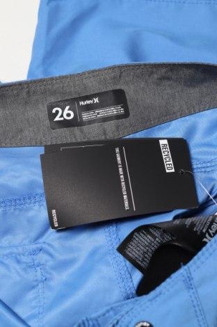Dětské krátké kalhoty  Hurley, Velikost 10-11y/ 146-152 cm, Barva Modrá, Polyester, Cena  750,00Kč