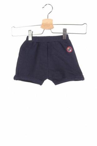 Παιδικό κοντό παντελόνι Jacky, Μέγεθος 12-18m/ 80-86 εκ., Χρώμα Μπλέ, Βαμβάκι, Τιμή 14,69€
