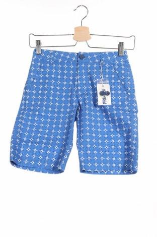 Παιδικό κοντό παντελόνι Primigi, Μέγεθος 7-8y/ 128-134 εκ., Χρώμα Μπλέ, Βαμβάκι, Τιμή 18,95€