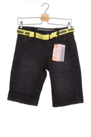 Παιδικό κοντό παντελόνι Staccato, Μέγεθος 13-14y/ 164-168 εκ., Χρώμα Μαύρο, 80% βαμβάκι, 19% πολυεστέρας, 1% ελαστάνη, Τιμή 10,39€