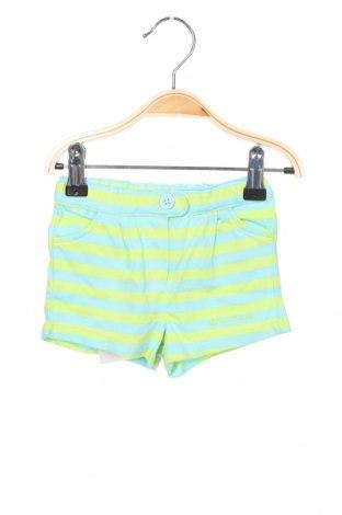 Παιδικό κοντό παντελόνι Tutto Piccolo, Μέγεθος 6-9m/ 68-74 εκ., Χρώμα Μπλέ, Βαμβάκι, Τιμή 5,26€