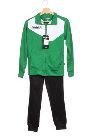 Детски комплект Legea, Размер 10-18, Цвят Зелен, 85% полиестер, 15% памук, Цена 40,05лв.