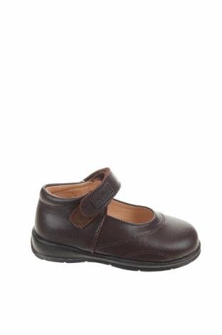 Детски обувки Angelitos, Размер 22, Цвят Кафяв, Естествена кожа, Цена 29,37лв.