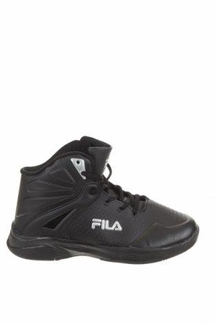 Детски обувки Fila, Размер 38, Цвят Черен, Еко кожа, полиуретан, Цена 29,40лв.