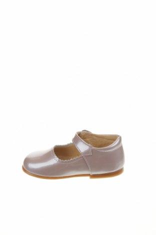 Детски обувки Lola Palacios, Размер 23, Цвят Пепел от рози, Естествена кожа, Цена 66,75лв.