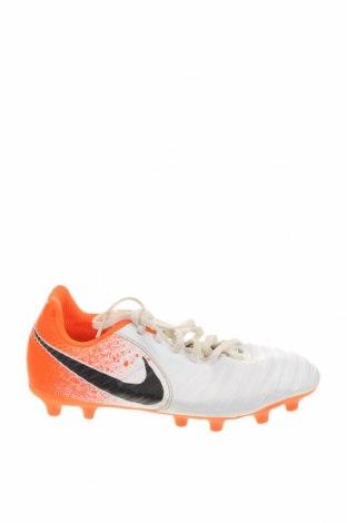 Детски обувки Nike, Размер 35, Цвят Бял, Еко кожа, Цена 40,16лв.