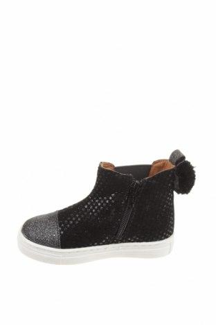 Детски обувки Oca-Loca, Размер 25, Цвят Черен, Естествен велур, Цена 129,00лв.