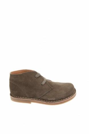 Детски обувки Oca-Loca, Размер 28, Цвят Зелен, Естествен велур, Цена 149,00лв.