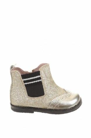 Детски обувки Oca-Loca, Размер 23, Цвят Златист, Текстил, естествена кожа, Цена 89,00лв.