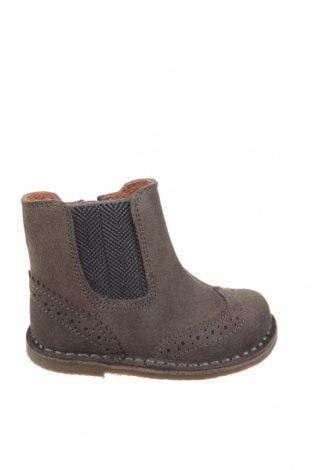 Dětské boty  Oca-Loca, Velikost 22, Barva Hnědá, Přírodní velur , Cena  443,00Kč