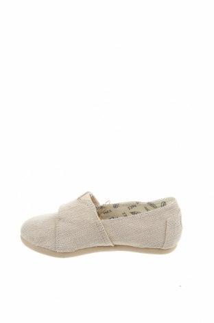 Детски обувки Paez, Размер 29, Цвят Екрю, Текстил, Цена 18,88лв.