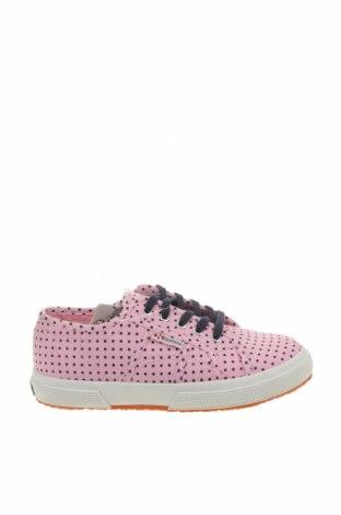 Детски обувки Superga, Размер 32, Цвят Розов, Текстил, Цена 43,61лв.