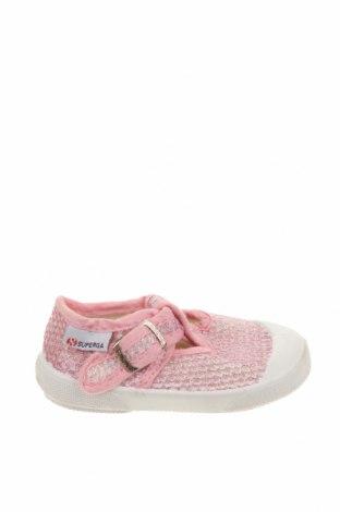 Παιδικά παπούτσια Superga, Μέγεθος 20, Χρώμα Λευκό, Κλωστοϋφαντουργικά προϊόντα, πολυουρεθάνης, Τιμή 9,35€