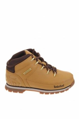 Детски обувки Timberland, Размер 36, Цвят Бежов, Естествена кожа, Цена 189,00лв.