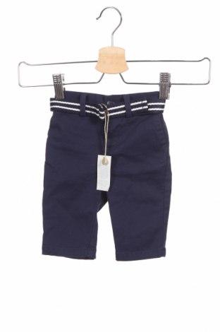 Детски панталон Ralph Lauren, Размер 2-3m/ 56-62 см, Цвят Син, 98% памук, 2% еластан, Цена 19,75лв.