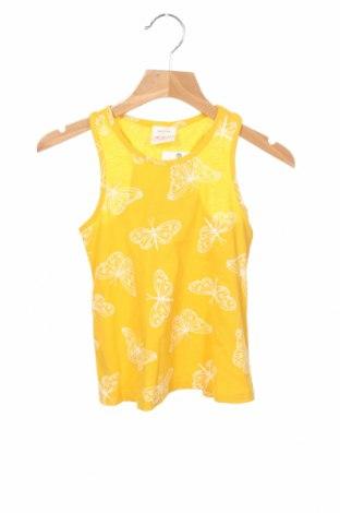 Детски потник Lefties, Размер 4-5y/ 110-116 см, Цвят Жълт, 100% памук, Цена 9,12лв.