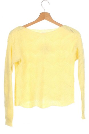 Pulover pentru copii Cubus, Mărime 10-11y/ 146-152 cm, Culoare Galben, 60%acril, 40% poliamidă, Preț 51,73 Lei