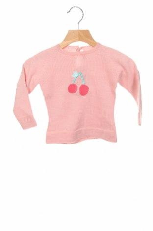 Dětský svetr  Little Celebs, Velikost 9-12m/ 74-80 cm, Barva Růžová, Akryl , Cena  214,00Kč