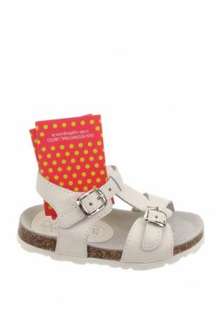 Детски сандали Lulu, Размер 22, Цвят Бял, Естествена кожа, Цена 38,27лв.