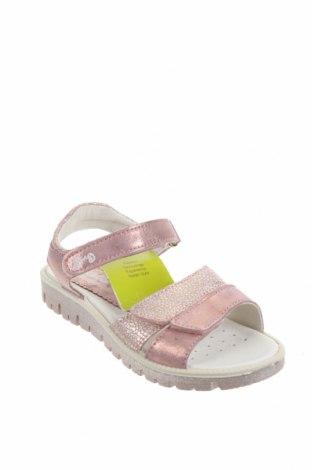Детски сандали Primigi, Размер 31, Цвят Розов, Естествена кожа, Цена 74,25лв.
