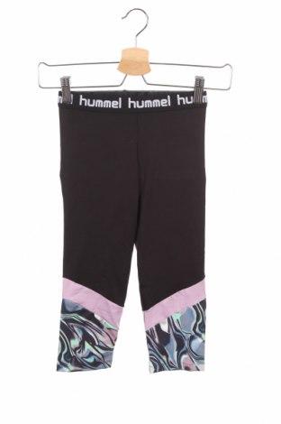 Παιδικό αθλητικό κολάν Hummel, Μέγεθος 8-9y/ 134-140 εκ., Χρώμα Μαύρο, 95% πολυεστέρας, 5% ελαστάνη, Τιμή 15,08€