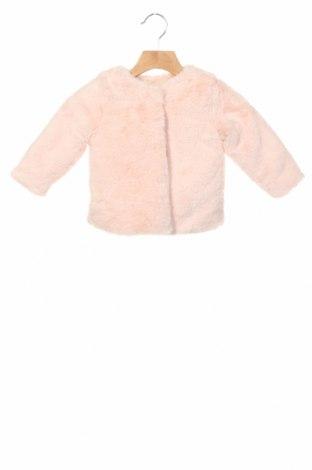 Детско палто Lola Palacios, Размер 12-18m/ 80-86 см, Цвят Розов, Полиестер, Цена 26,60лв.