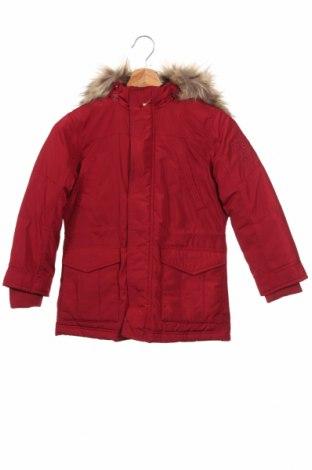 Παιδικό μπουφάν Pepe Jeans, Μέγεθος 6-7y/ 122-128 εκ., Χρώμα Κόκκινο, Πολυεστέρας, φτερά και πούπουλα, Τιμή 41,31€