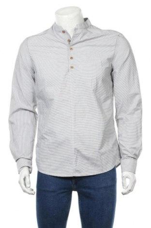 Ανδρική μπλούζα Desigual, Μέγεθος M, Χρώμα Γκρί, Βαμβάκι, Τιμή 34,41€