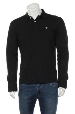 Ανδρική μπλούζα Hackett, Μέγεθος M, Χρώμα Μαύρο, Βαμβάκι, Τιμή 42,14€