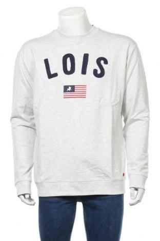 Мъжка блуза Lois, Размер M, Цвят Сив, 98% памук, 2% вискоза, Цена 24,15лв.