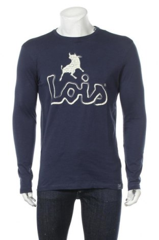 Мъжка блуза Lois, Размер M, Цвят Син, Памук, Цена 24,15лв.